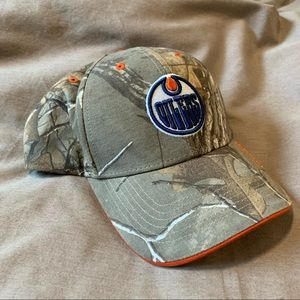 NHL | Edmonton Oilers Camo Hat